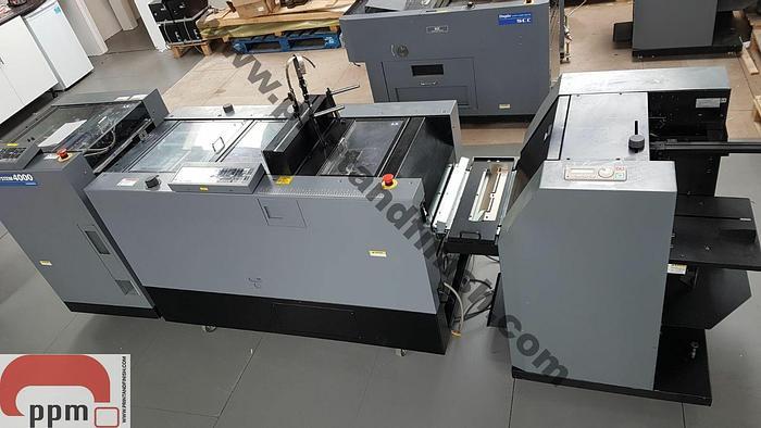 Used Duplo 4000 Booklet Maker & Trimmer System with Digital Feeder