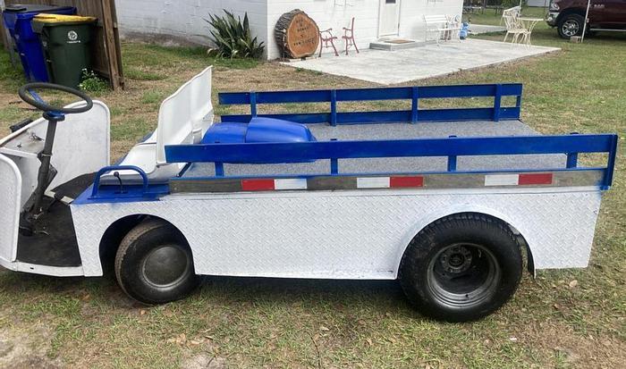 Used 2000 Cushman Industrial Cart