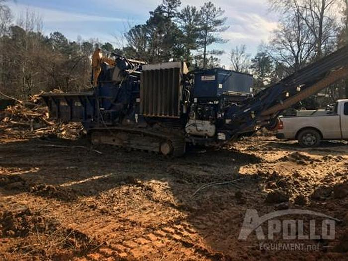 Used 2005 Peterson Pacific 4710B Tracked Horizontal Grinder