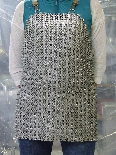 Używane Fartuch masarski kolczuga - wykonanie aluminiowe