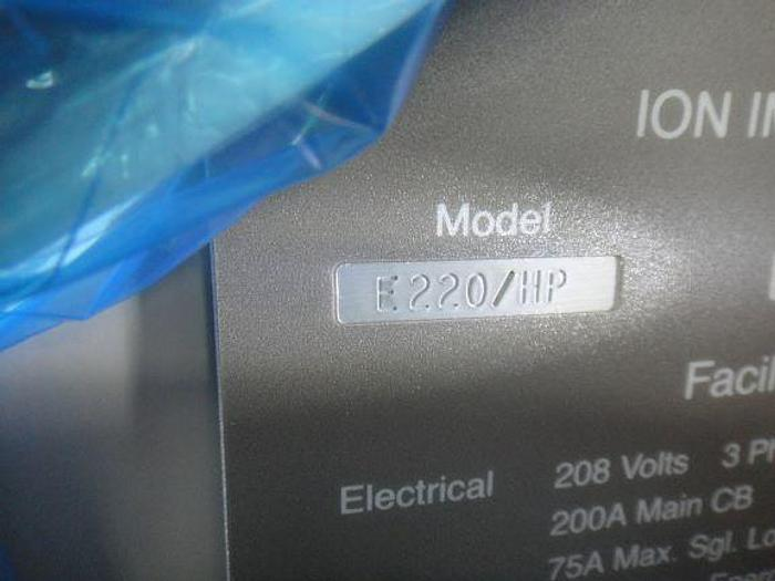 Varian E220HP Implanter