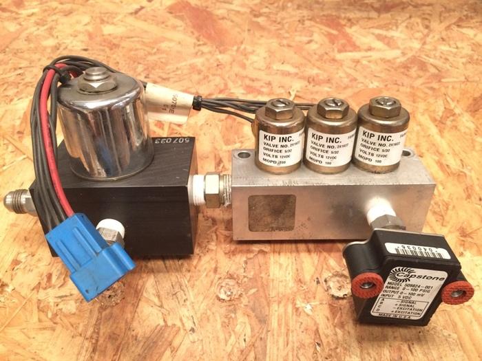 Used Capstone Turbine Gas Fuel Manifolds for C30 Microturbine (P/N 511439-100)