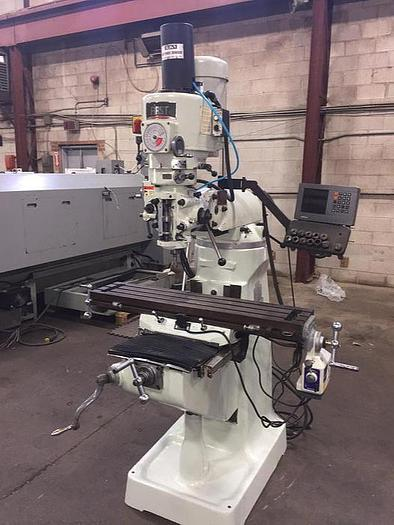 "Used 9"" X 42"", FIRST, LC 1 1/2 VS, VERTICAL MILLING MACHINE"