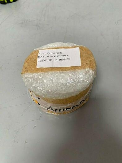Used Amersham Biosciences Spacer Block End Screw Cap