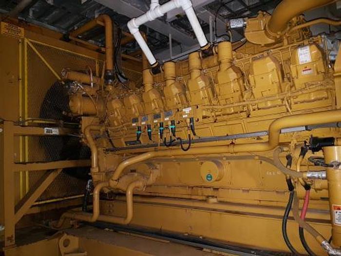 Used 1.5 MW 2003 Used Caterpillar 3516 Diesel Generator