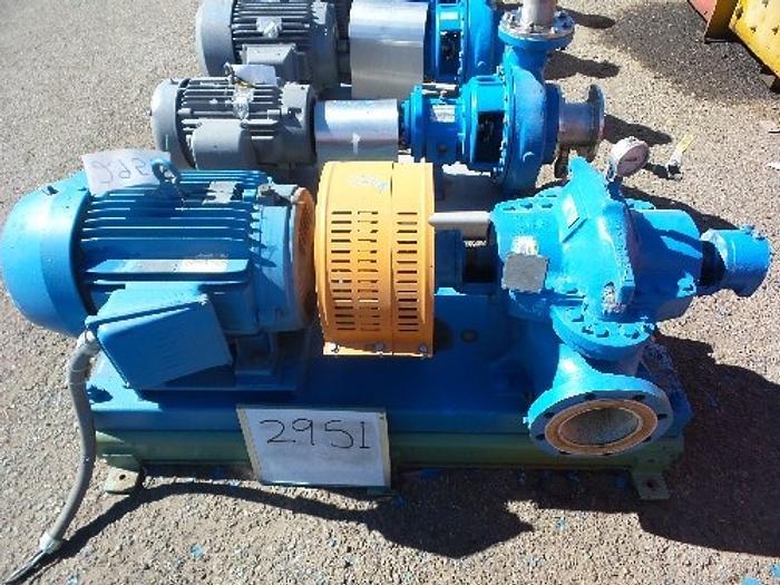 Used Goulds 6'' x 4'' Split Case Pump