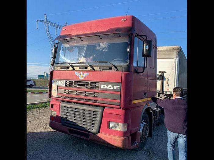 Used 2001 DAF 95 XF 430 EURO 3 MANUAL