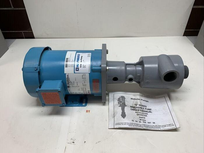 Hayward Webster 1SS7HX008 Submersible Pump 1 HP 208-230/460V 3450Rpm *New*