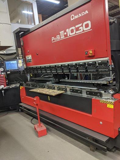 Used 2000 110 Ton Amada FBD-1030NT CNC Press Brake