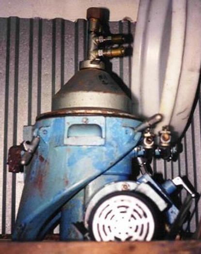 Used Alfa Laval WSPX204-TGT-74. Used for separating tramp oils from cooling liquids.