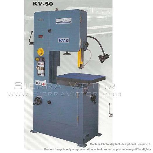BIRMINGHAM Vertical Metal Cutting Band Saw KV-50