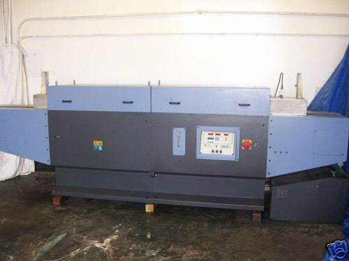 Used 2000 OPDEL FN3 2 Zone 1700 Degree Conveyer Furnace