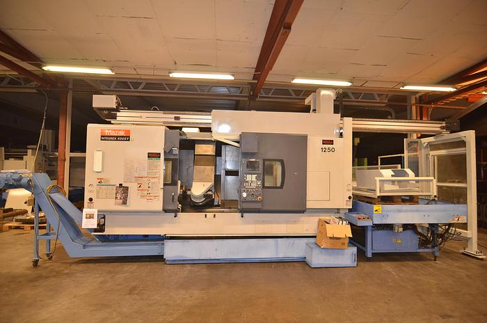 Used MS36 - Mazak Integrex 400 SY GL 300