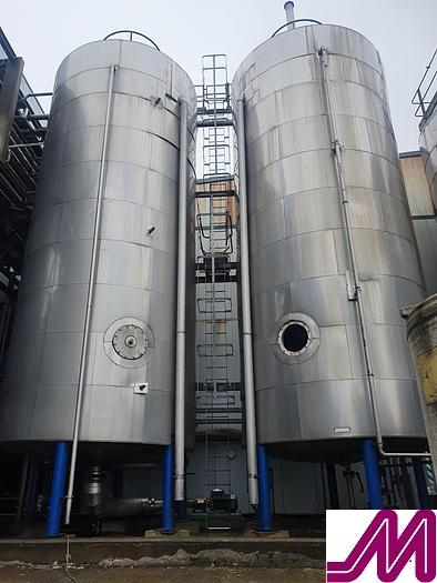 Used 103,300 Litre Stainless Steel Jacketed & Insulated Storage Tank