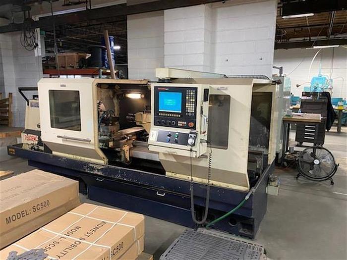 Used 2007 Willis 2680 ENC CNC Flatbed Lathe