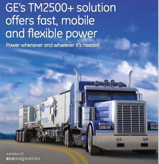 30.688 MW GE TM 2500+ Dual Fuel Generator Set