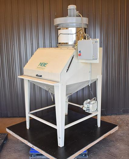Used USED NATIONAL BULK EQUIPMENT BAG DUMP STATION WITH DUST COLLECTOR, CARBON STEEL