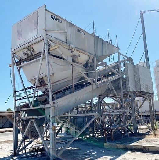 Used 5 Yard Precast Concrete Batch Plant