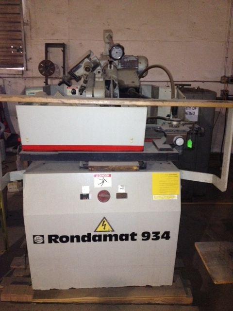 Weinig Model 934 Profile Grinder