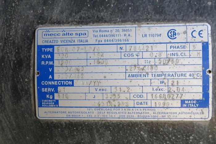 1999 Atlas Copco KVA: 300