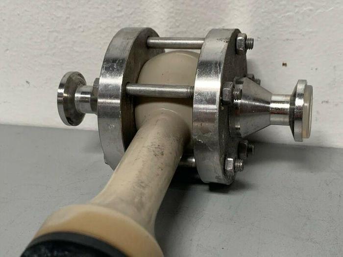 """Used Yokogawa Stainless Steel Flow Meter w/ 1"""" Sanitary Fittings"""