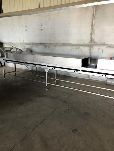 Used Stainless steel conveyor