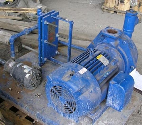 Tuthill Single Stage Liquid Ring Vacuum Pump