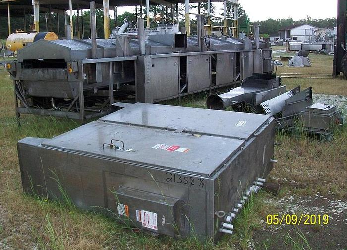 Used FMC/Stein Thermofin Fryer; Md#TFF II 4025