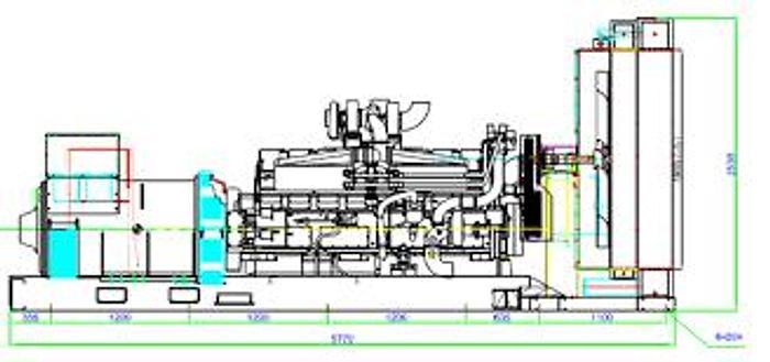 1.29 MW 2019 New Cummins KTA50G9 Diesel Generator