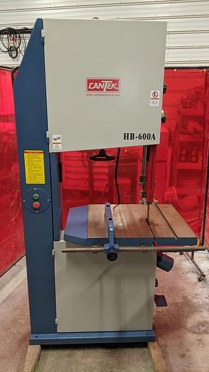 Used Used Cantek HBA-600A Bandsaw , Resaw