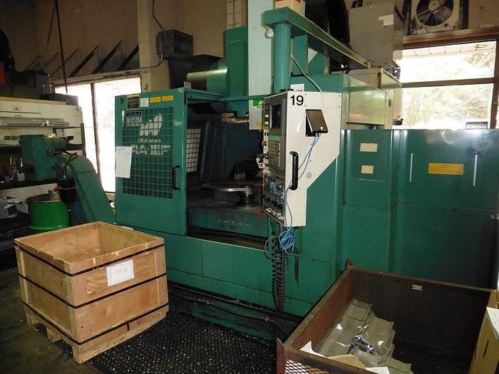 "31""X, 17""Y, 19""Z, MATSUURA RA-3F, 1998, CNC VERTICAL MACHINING CENTER W/PALLET CHANGER"