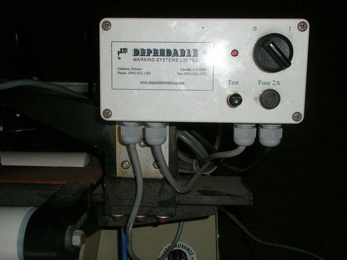 Table Top Pressure Sensitive Labeler