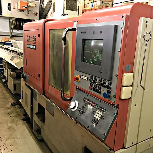 Used GILDEMEISTER GAC 65 - CNC Lathe  - 1991