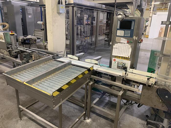 Used 2000 GREASBY BEST  D30 Checkweigher