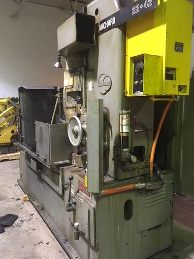 BLANCHARD MODEL 22-42 VERTICAL ROTARY SURFACE GRINDER