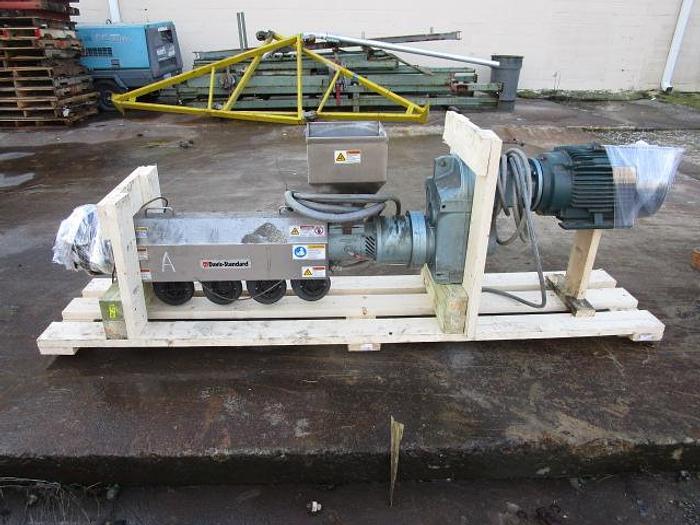 "Used 1 1/2"" Davis Standard Extruder 15 hp stock # 4756-44A"