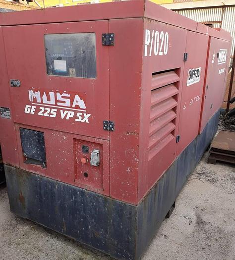 Usata Gruppo Elettrogeno, MOSA GE 225 VP SX - 220 Kva