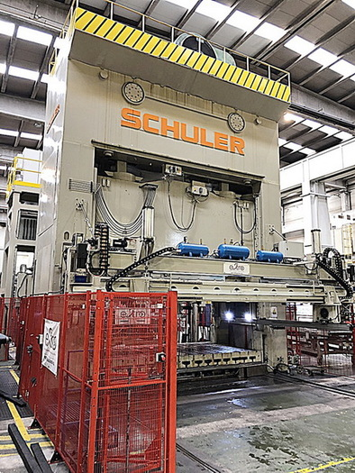 "1500 ton Schuler 196""x108"" Stamping Press"