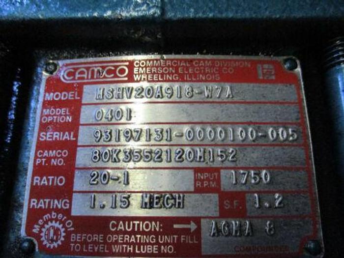 ROTARY INDEX 601RDM0H24-360_EMERSON DXM-316W SERVOMOTOR_INDEXER