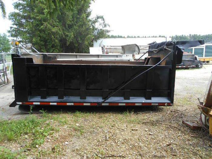 2000 Heil 14ft Gravel Box- Stock #: 8017