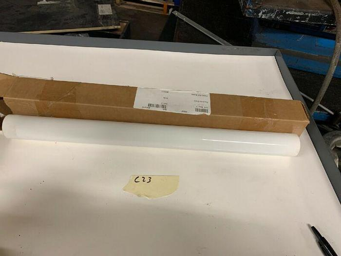 "New HIGH PURITY ALUMINA CERAMIC SHAFT STOCK 24"" X 2"" Siemens EES-RAP-SFT-04"