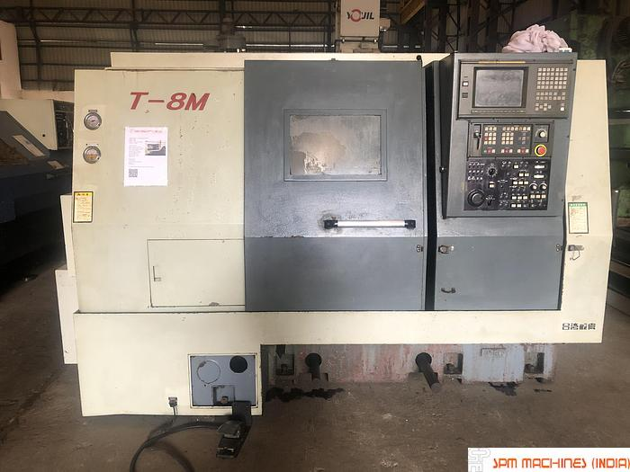 Used Leadwell T8M CNC Turn Mill Center - 2004