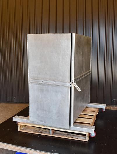 "Used USED SCREENER CABINET, 48"" DIAMETER, ALUMINUM"