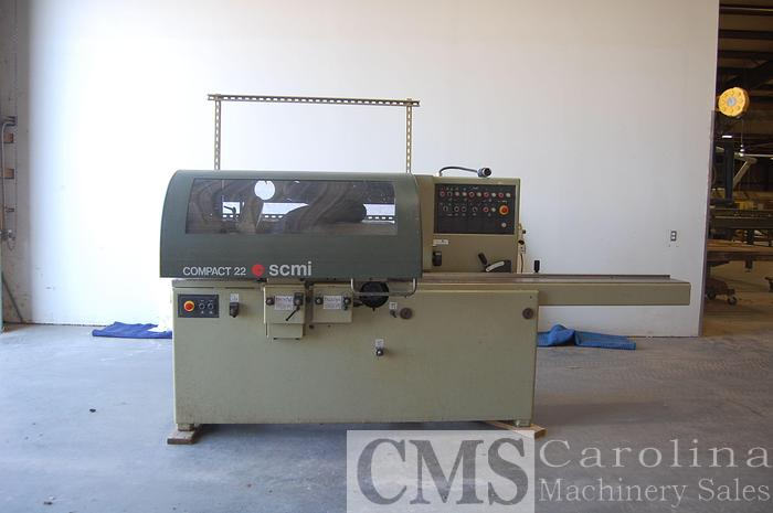 Used SCM Compact 22 4 head moulder