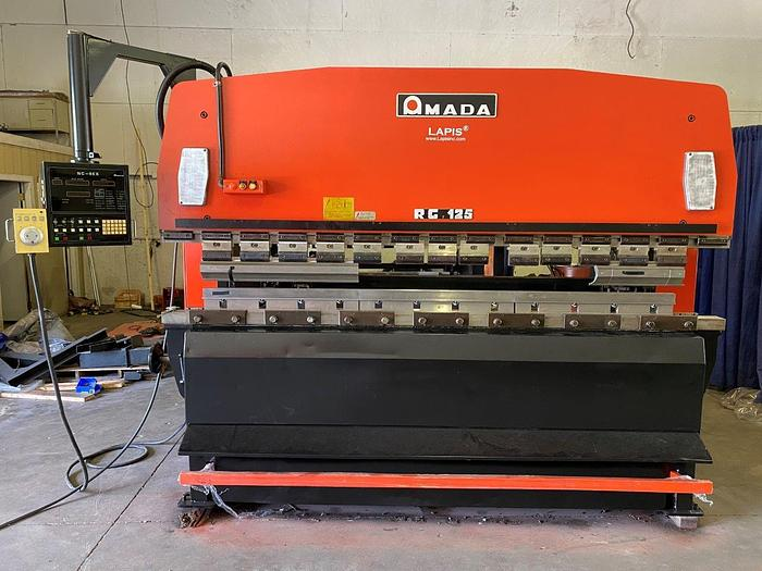 Used 138 Ton Amada RG-125 CNC Press Brake
