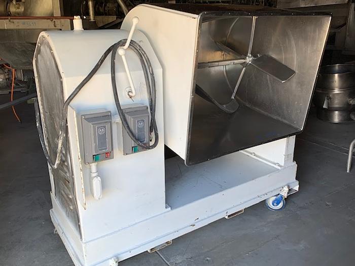 Leland 500 Lb. Stainless Steel Mixer
