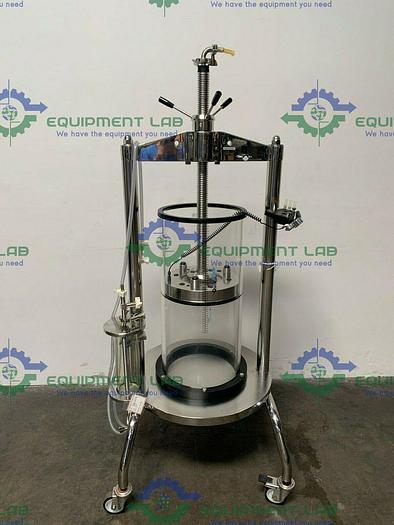Used Millipore QuikScale GAP 350x800 74 L Chromatography Column w/ Column Bubble Trap