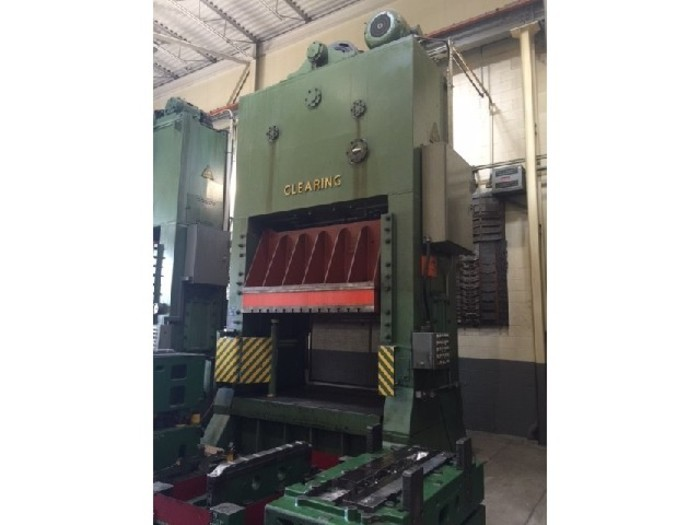 """250 ton Clearing 96""""x72"""" Used Stamping Press"""