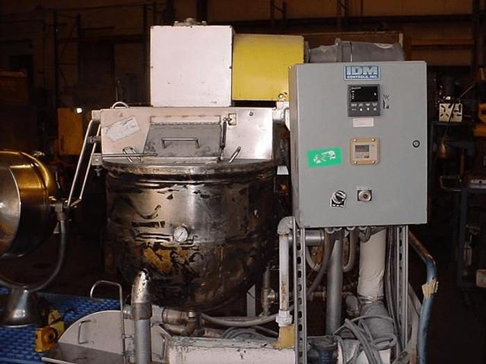 Used 30 GALLON GROEN DOUBLE MOTION KETTLE – 316 S/S – JACKETED