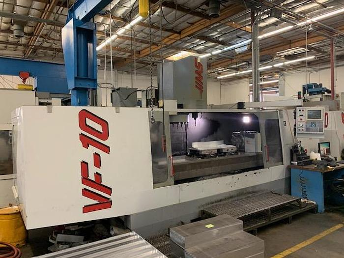 Used 1997 Haas VF10 CNC Vertical Machining Center #5733
